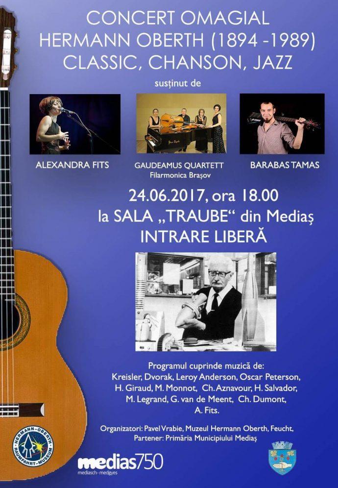 Afis concert Alexandra Fits