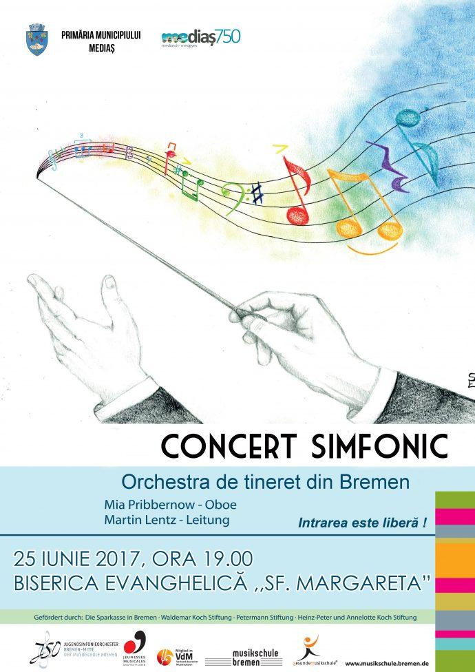 Afis concert simfonic