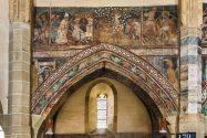 Biserica Sfanta Margareta pictura interioara