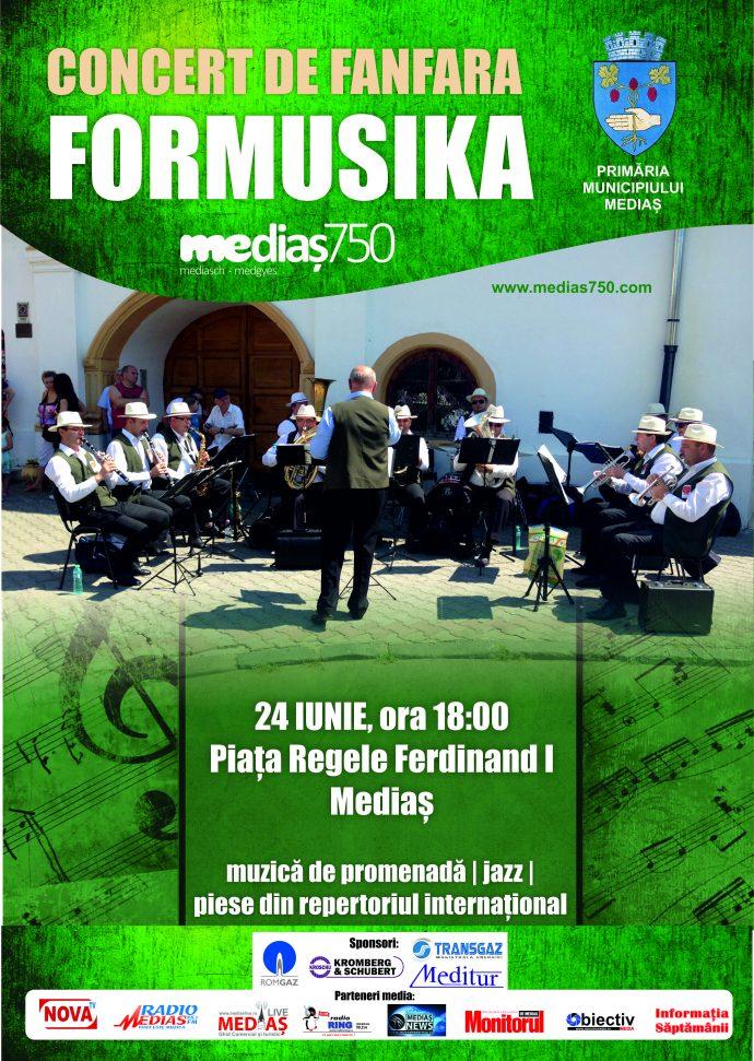 Afis fanfara Formusika