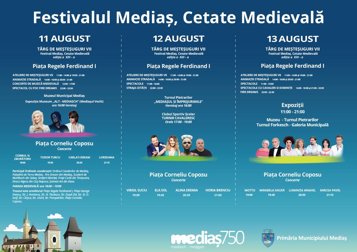 Mediaș, Cetate Medievală 2017