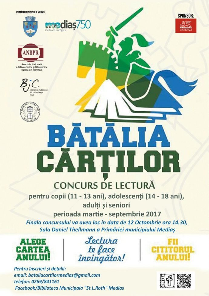 Afis batalia cartilor 2017