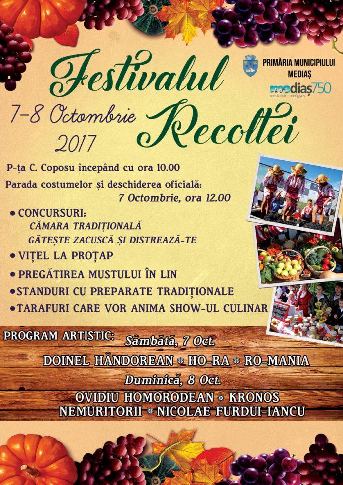 Afis Festivalul Recoltei