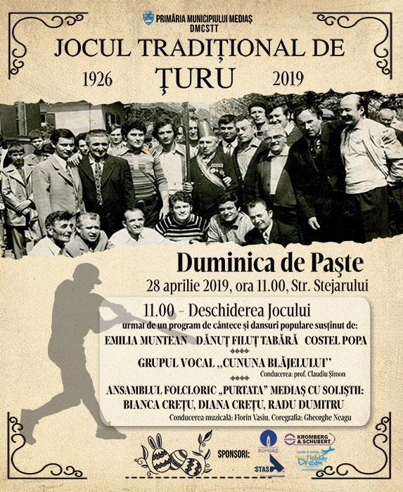 Jocul tradițional Țuru