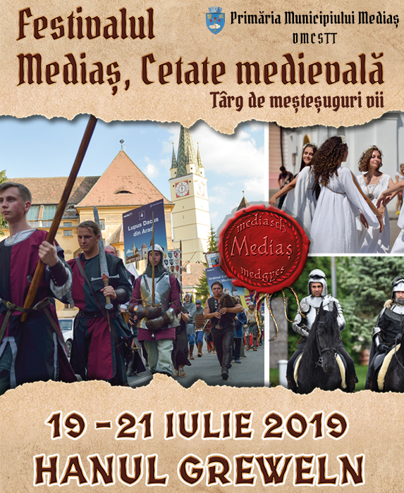 Festivalul Mediaș Cetate Medievală - 2019