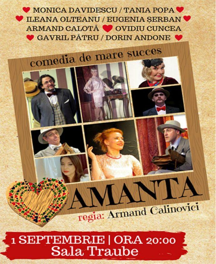 Spectacol de teatru - Amanta